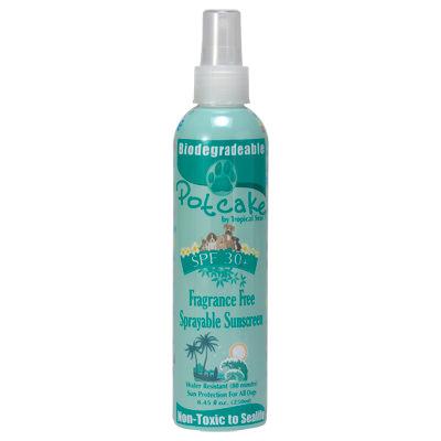 Pet Sunscreen Label