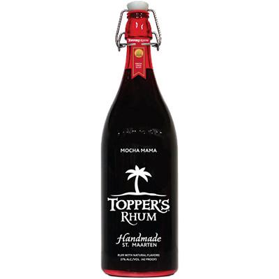 Clear Rum Bottle Label