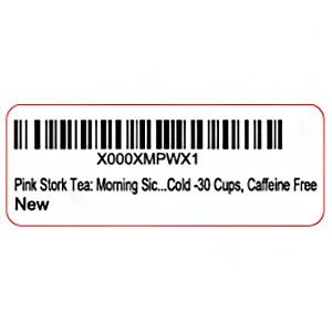 Amazon barcode label