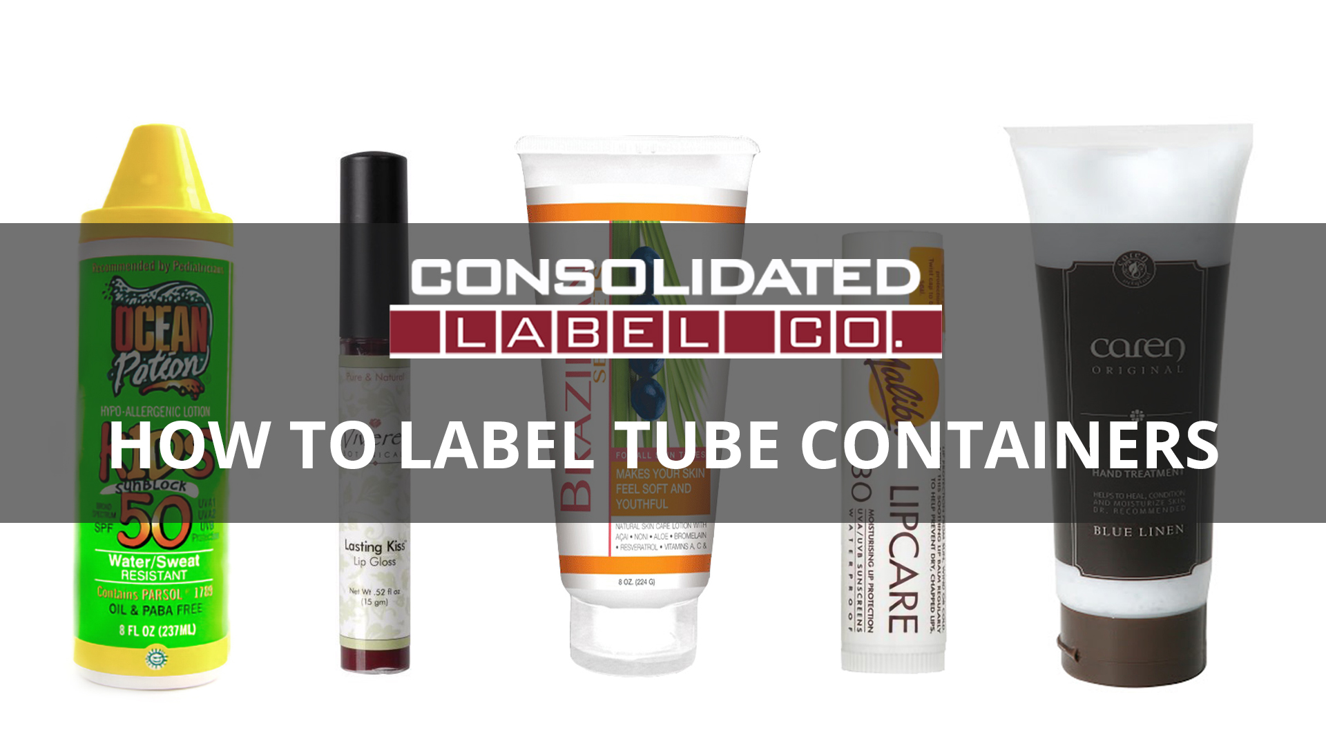 How to label tube containers video
