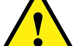 Symbol for Prop 65 warning label