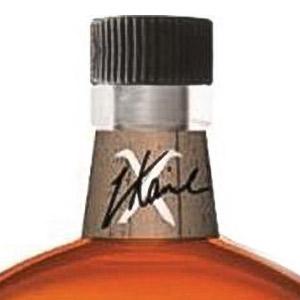 Bottleneck label for whiskey