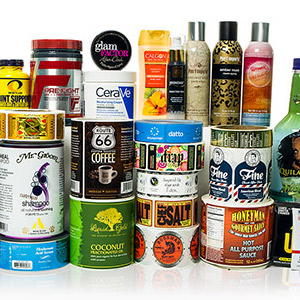 Label rolls from label printing company Consolidated Label