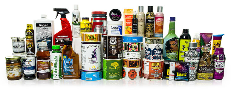 Print products from label printing company Consolidated Label
