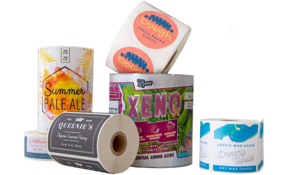 Custom Roll Labels