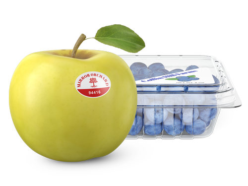 Fruit & Produce Label Banner