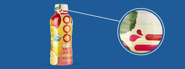 Juice Label Tamper Evident Seal