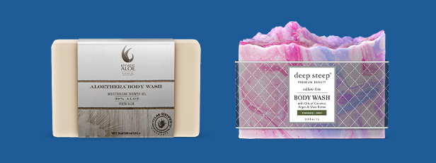 Bar Soap with Labels