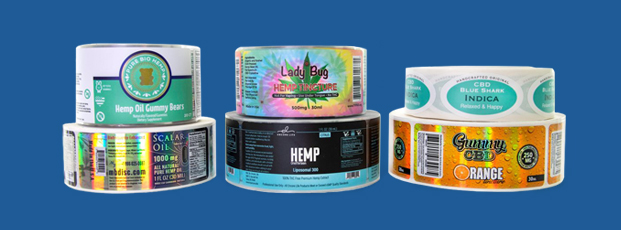 Marijuana Roll Labels