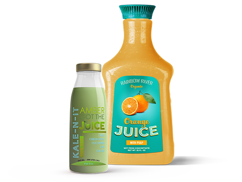 Juice Labels Banner