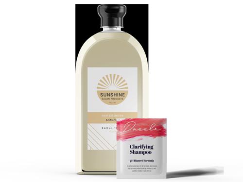 Shampoo Labels Banner Image
